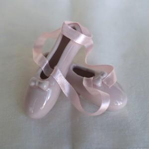 Παπούτσια μπαλαρίνας πορσελάνινα 7Χ7Χ3