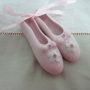 Παπούτσια μπαλαρίνας πορσελάνινα 6,5X4X2 CM