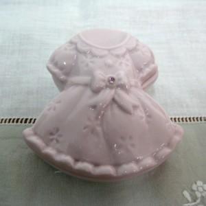 πορσελάνινο φόρεμα ροζ 7Χ7Χ3