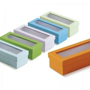 Παραλληλόγραμμο κουτί με διαφάνεια