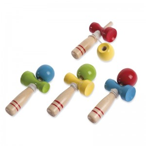 Ξύλινο παιχνίδι σχοινάκι με μπάλα