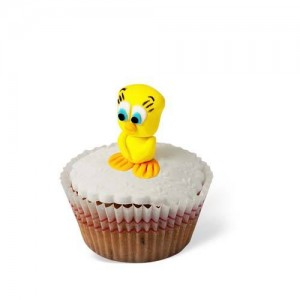 Cupcake με διακόσμηση Πουλάκι