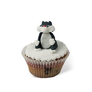 Cupcake με διακόσμηση Γατούλα