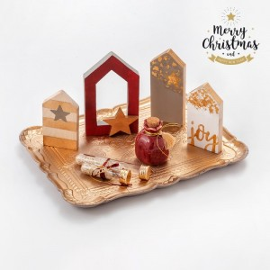 Χριστουγεννιάτικη Σύνθεση Τραπεζιού