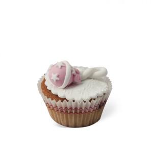 Cupcake με διακόσμηση Κουδουνίστρα