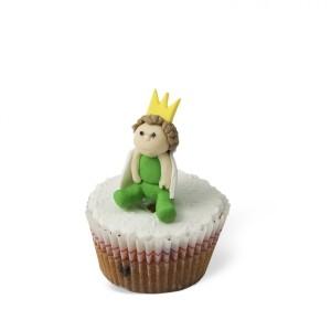 Cupcake με διακόσμηση Πρίγκιπας