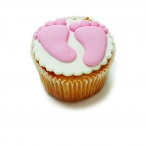 Cupcake με διακόσμηση πατουσάκια
